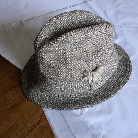 0c6c14f0 David Hanna & Sons Other - David Hanna & Sons Ireland Donegal Wool Hat Tweed